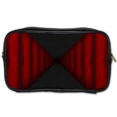 Black Red Door Toiletries Bags