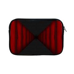Black Red Door Apple Ipad Mini Zipper Cases by Mariart