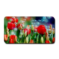 Colorful Flowers Medium Bar Mats by Mariart