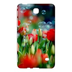 Colorful Flowers Samsung Galaxy Tab 4 (8 ) Hardshell Case  by Mariart