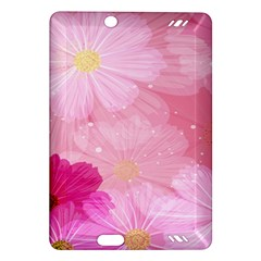 Cosmos Flower Floral Sunflower Star Pink Frame Amazon Kindle Fire Hd (2013) Hardshell Case by Mariart
