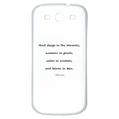 Inspirational Quote (arthur Young) Samsung Galaxy S3 S Iii Classic Hardshell Back Case by DeneWestUK
