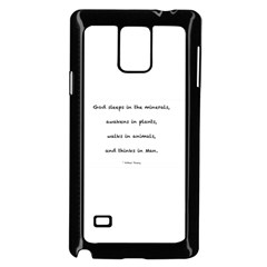Inspirational Quote (arthur Young) Samsung Galaxy Note 4 Case (black) by DeneWestUK