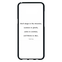 Inspirational Quote (arthur Young) Samsung Galaxy S8 Plus Black Seamless Case by DeneWestUK