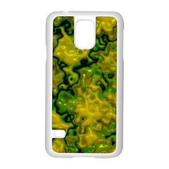 Wet Plastic, Yellow Samsung Galaxy S5 Case (white) by MoreColorsinLife