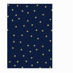 Navy/gold Stars Large Garden Flag (two Sides) by Colorfulart23
