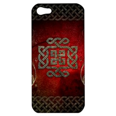 The Celtic Knot With Floral Elements Apple Iphone 5 Hardshell Case by FantasyWorld7