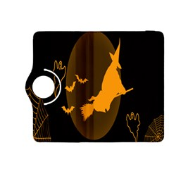 Day Hallowiin Ghost Bat Cobwebs Full Moon Spider Kindle Fire Hdx 8 9  Flip 360 Case by Mariart