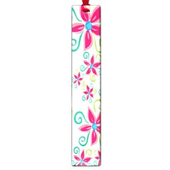 Flower Beauty Sexy Rainbow Sunflower Pink Green Blue Large Book Marks by Mariart