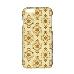 Flower Brown Star Rose Apple Iphone 6/6s Hardshell Case by Mariart