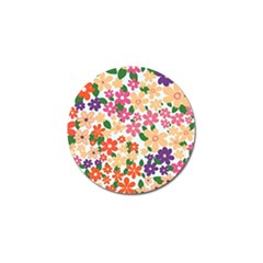 Flower Floral Rainbow Rose Golf Ball Marker (10 Pack) by Mariart