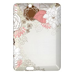 Flower Floral Rose Sunflower Star Sexy Pink Kindle Fire Hdx Hardshell Case by Mariart