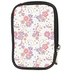 Flower Floral Sunflower Rose Purple Red Star Compact Camera Cases by Mariart