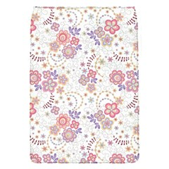 Flower Floral Sunflower Rose Purple Red Star Flap Covers (s)  by Mariart