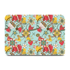 Flower Fruit Star Polka Rainbow Rose Plate Mats by Mariart