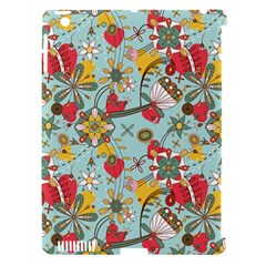 Flower Fruit Star Polka Rainbow Rose Apple Ipad 3/4 Hardshell Case (compatible With Smart Cover) by Mariart