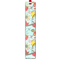 Flower Fruit Star Polka Rainbow Rose Large Book Marks by Mariart