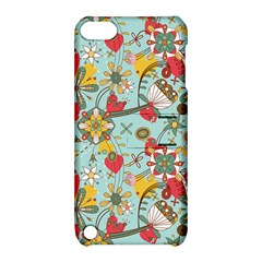Flower Fruit Star Polka Rainbow Rose Apple Ipod Touch 5 Hardshell Case With Stand by Mariart