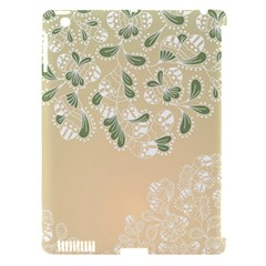 Flower Frame Green Sexy Apple Ipad 3/4 Hardshell Case (compatible With Smart Cover) by Mariart