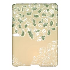 Flower Frame Green Sexy Samsung Galaxy Tab S (10 5 ) Hardshell Case  by Mariart