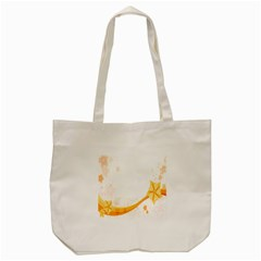 Flower Floral Yellow Sunflower Star Leaf Line Tote Bag (cream) by Mariart