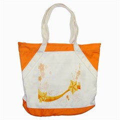 Flower Floral Yellow Sunflower Star Leaf Line Accent Tote Bag by Mariart
