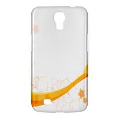 Flower Floral Yellow Sunflower Star Leaf Line Samsung Galaxy Mega 6 3  I9200 Hardshell Case by Mariart