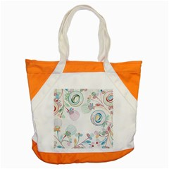 Flower Rainbow Circle Polka Leaf Sexy Accent Tote Bag by Mariart