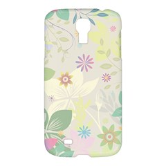Flower Rainbow Star Floral Sexy Purple Green Yellow White Rose Samsung Galaxy S4 I9500/i9505 Hardshell Case by Mariart