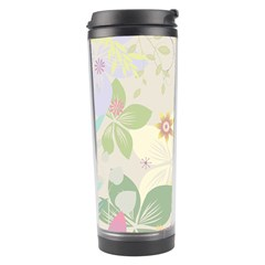 Flower Rainbow Star Floral Sexy Purple Green Yellow White Rose Travel Tumbler by Mariart