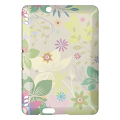 Flower Rainbow Star Floral Sexy Purple Green Yellow White Rose Kindle Fire Hdx Hardshell Case by Mariart