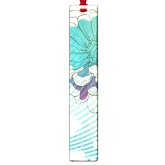 Flower Rose Purple Sunflower Lotus Large Book Marks by Mariart