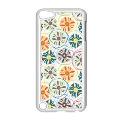 Flower Rainbow Fan Sunflower Circle Sexy Apple Ipod Touch 5 Case (white) by Mariart
