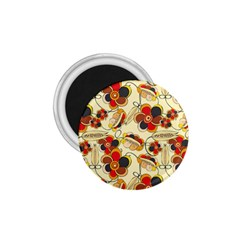 Flower Seed Rainbow Rose 1 75  Magnets by Mariart
