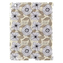 Flower Rose Sunflower Gray Star Apple Ipad 3/4 Hardshell Case (compatible With Smart Cover) by Mariart