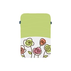 Flower Simple Green Rose Sunflower Sexy Apple Ipad Mini Protective Soft Cases by Mariart