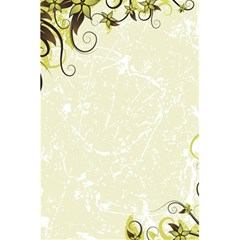 Flower Star Floral Green Camuflage Leaf Frame 5 5  X 8 5  Notebooks by Mariart