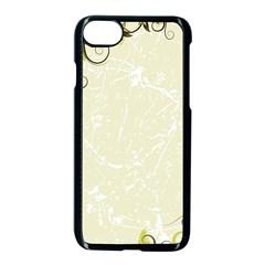 Flower Star Floral Green Camuflage Leaf Frame Apple Iphone 7 Seamless Case (black) by Mariart