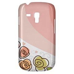 Flower Sunflower Wave Waves Pink Galaxy S3 Mini by Mariart