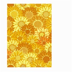 Flower Sunflower Floral Beauty Sexy Large Garden Flag (two Sides) by Mariart