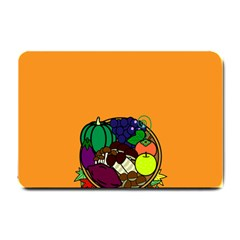 Healthy Vegetables Food Small Doormat  by Mariart