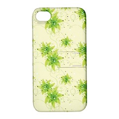 Leaf Green Star Beauty Apple Iphone 4/4s Hardshell Case With Stand by Mariart