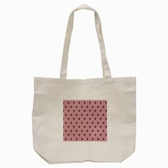 Love Black Pink Valentine Tote Bag (cream) by Mariart