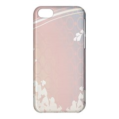Love Heart Flower Purple Sexy Rose Apple Iphone 5c Hardshell Case by Mariart
