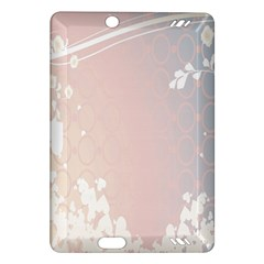 Love Heart Flower Purple Sexy Rose Amazon Kindle Fire Hd (2013) Hardshell Case by Mariart