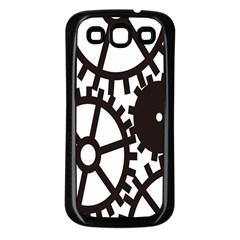 Machine Iron Maintenance Samsung Galaxy S3 Back Case (black) by Mariart