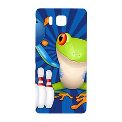 Tree Frog Bowling Samsung Galaxy Alpha Hardshell Back Case by crcustomgifts