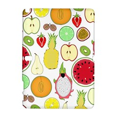 Mango Fruit Pieces Watermelon Dragon Passion Fruit Apple Strawberry Pineapple Melon Galaxy Note 1 by Mariart