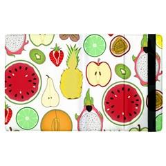Mango Fruit Pieces Watermelon Dragon Passion Fruit Apple Strawberry Pineapple Melon Apple Ipad Pro 9 7   Flip Case by Mariart