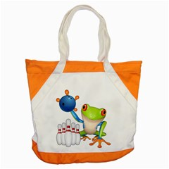 Tree Frog Bowler Accent Tote Bag by crcustomgifts